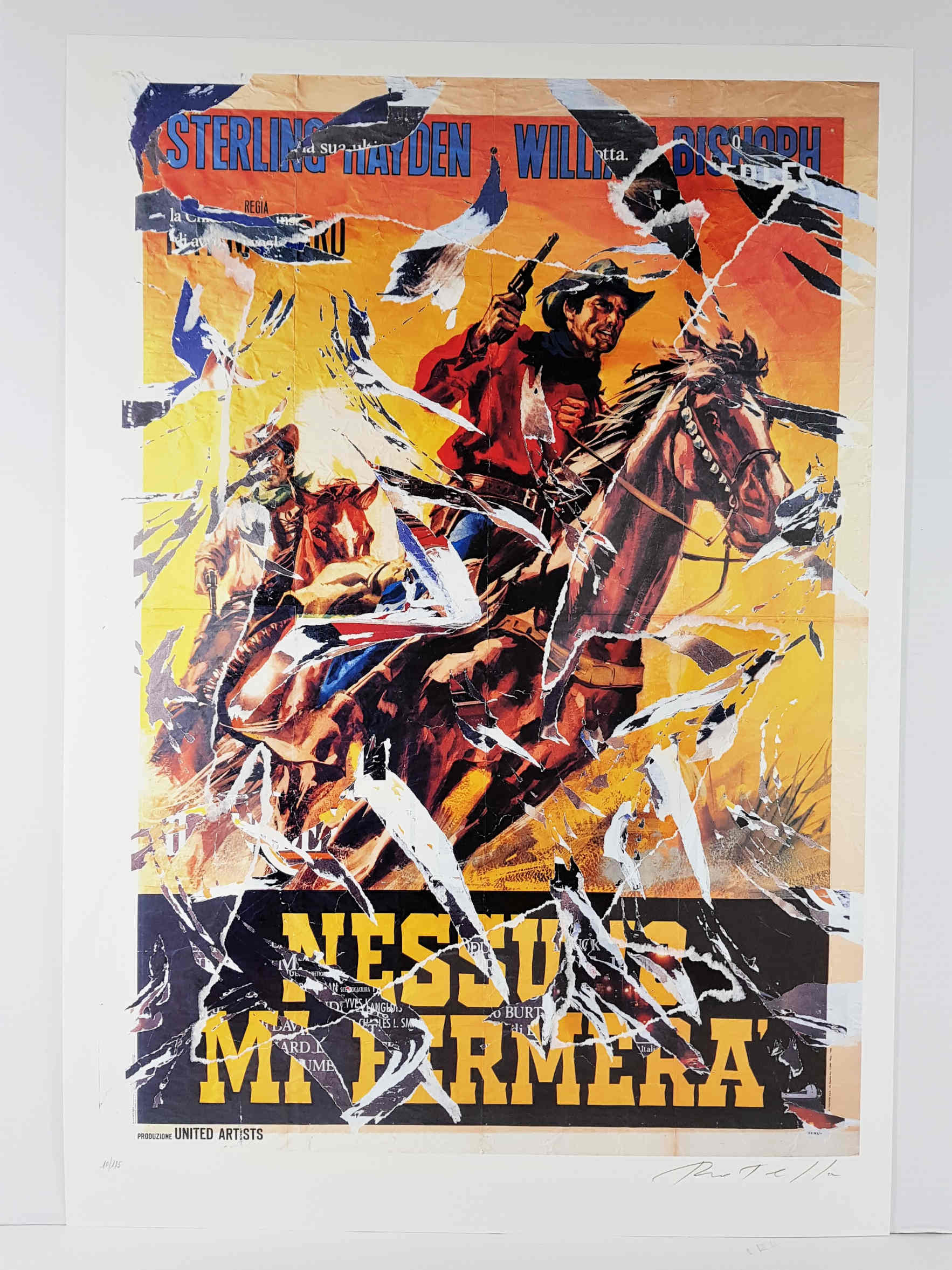 mimmo rotella seridecollage