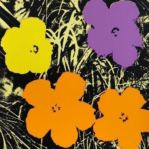 Sunday B. Morning Flower Andy Warhol