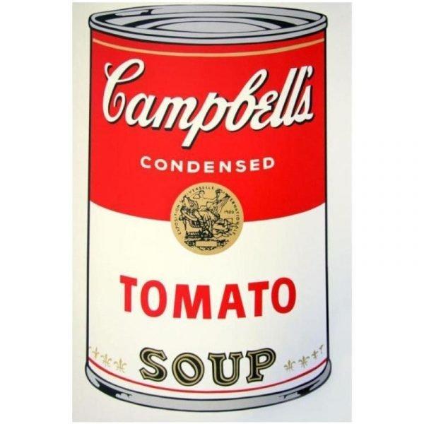 andy warhol tomato soup