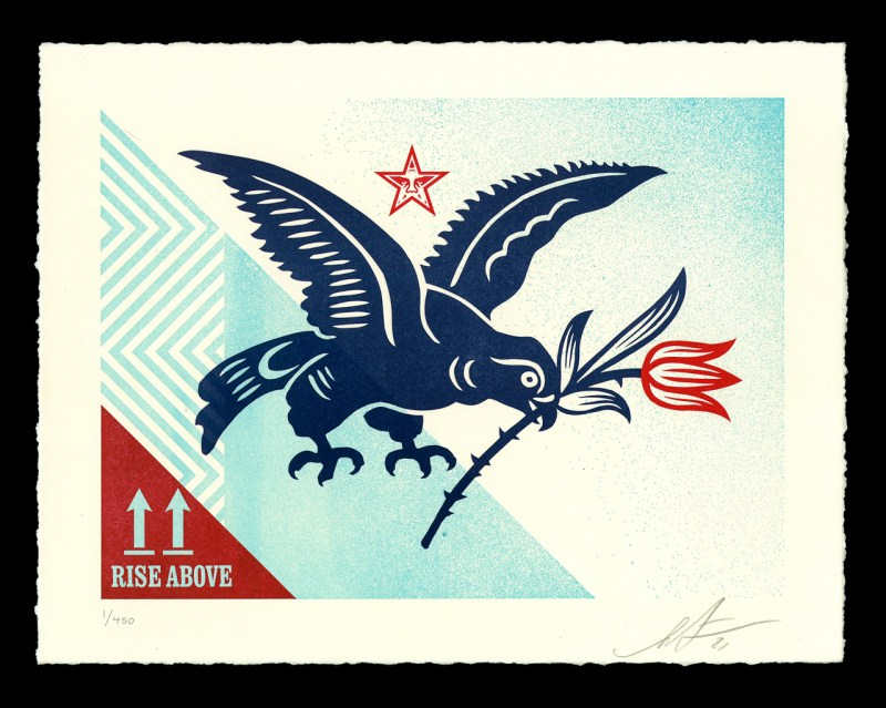Shepard-Fairey-Rise-Above-Bird-Letterpress-Signed-Edition-of-450