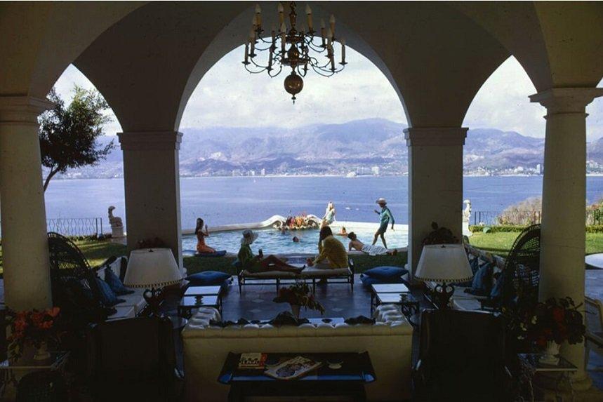 Slim Aarons Acapulco Villa