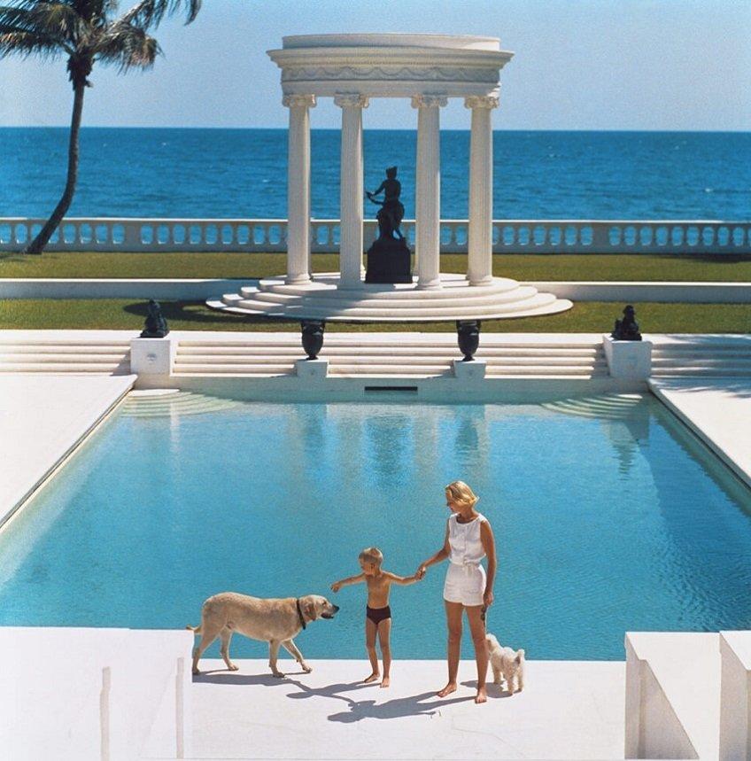 Slim Aarons Nice Pool