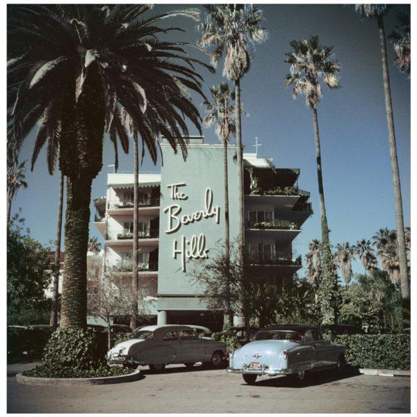 slim aarons Beverly Hills Hotel