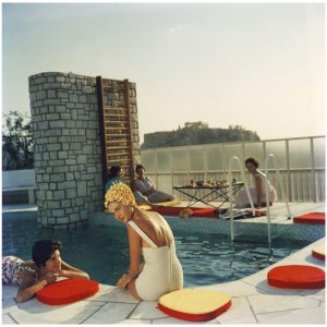slim aarons penthouse pool